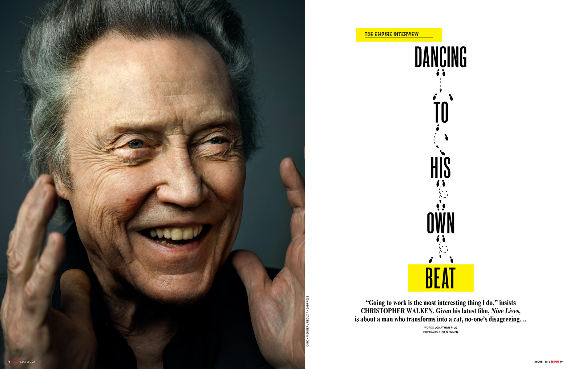 Empire Magazine - Christopher Walken