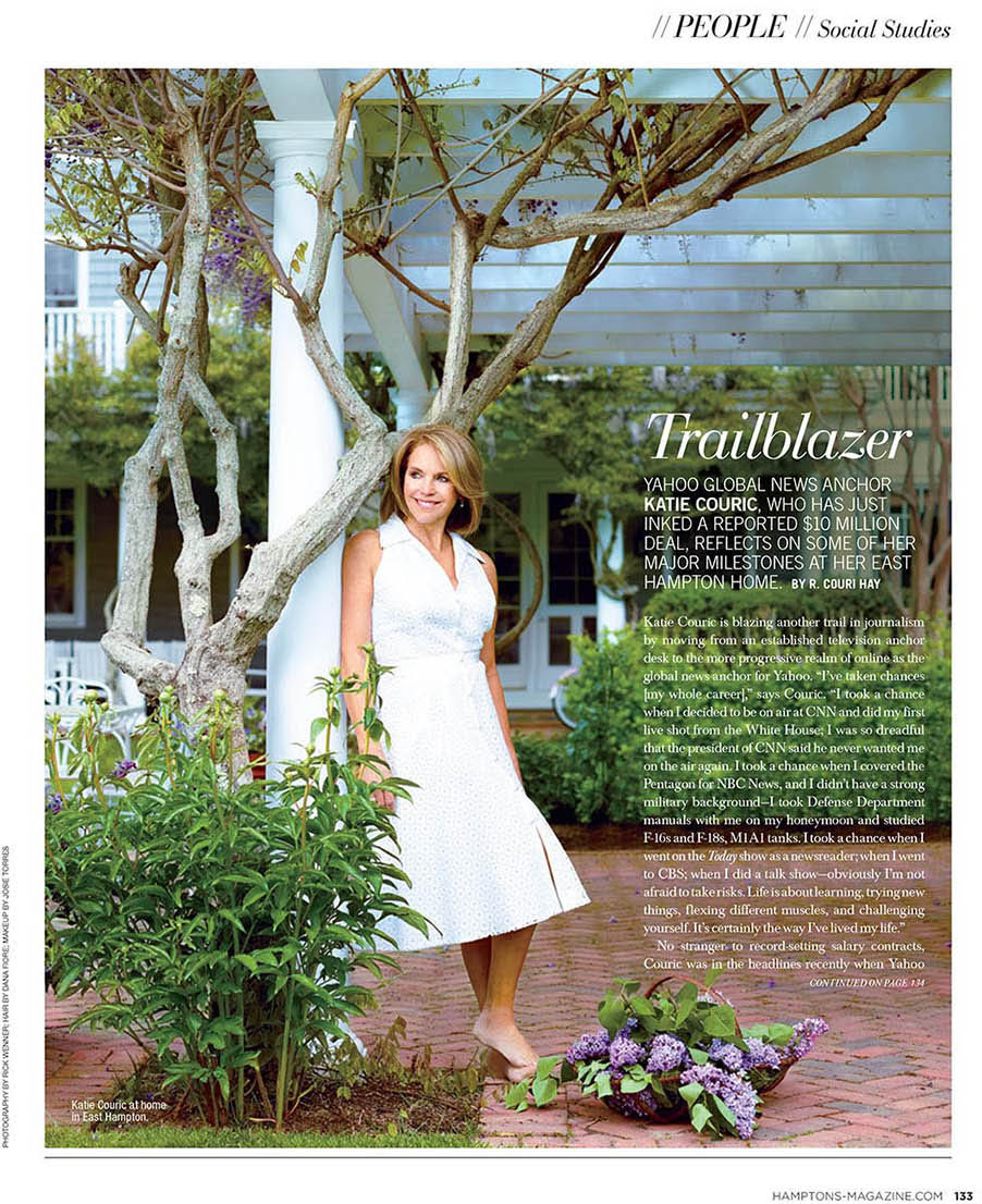Hamptons Magazine - Katie Couric