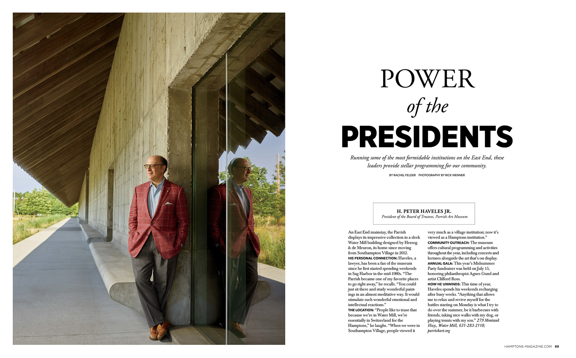 Hamptons Magazine - Power of the Presidents