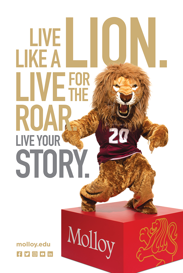 Rick_Wenner_Molloy_College_Live_Your_Story_Lion