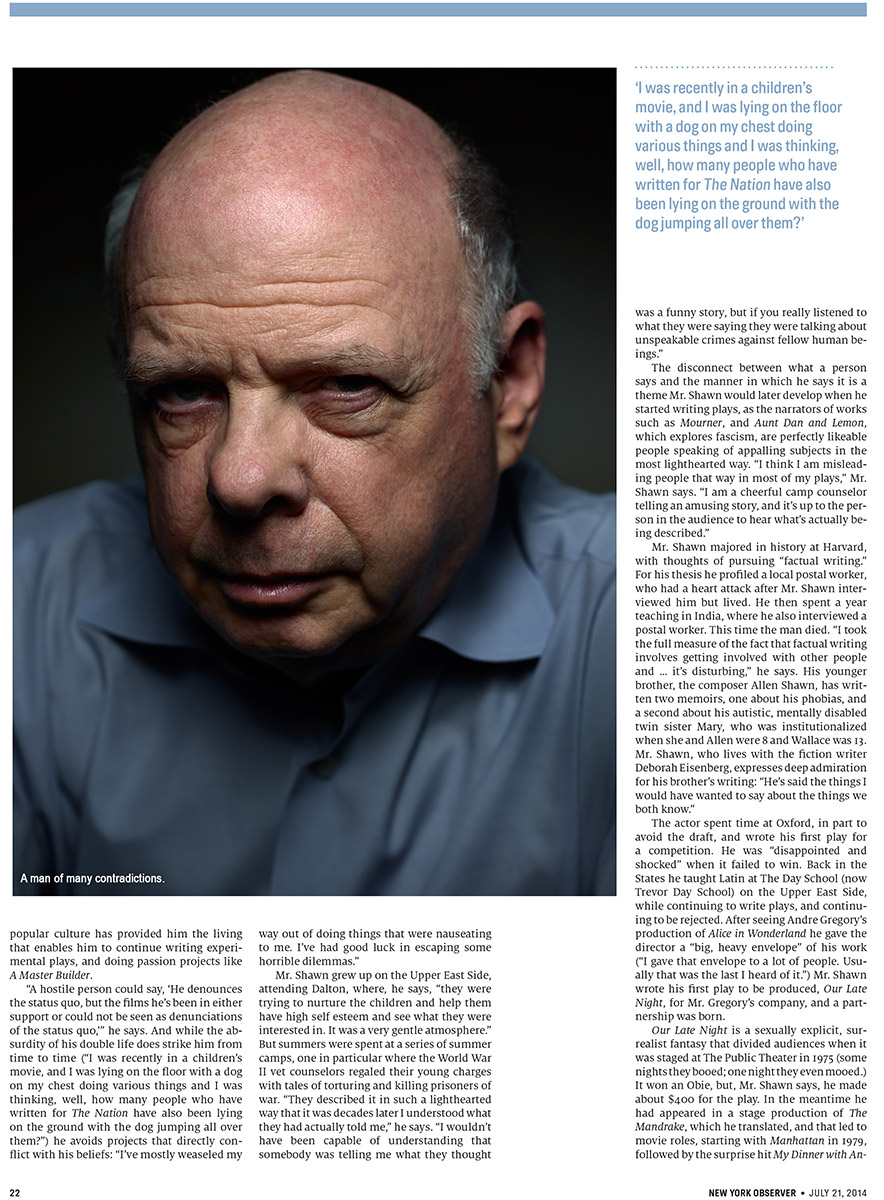 Observer - Wallace Shawn