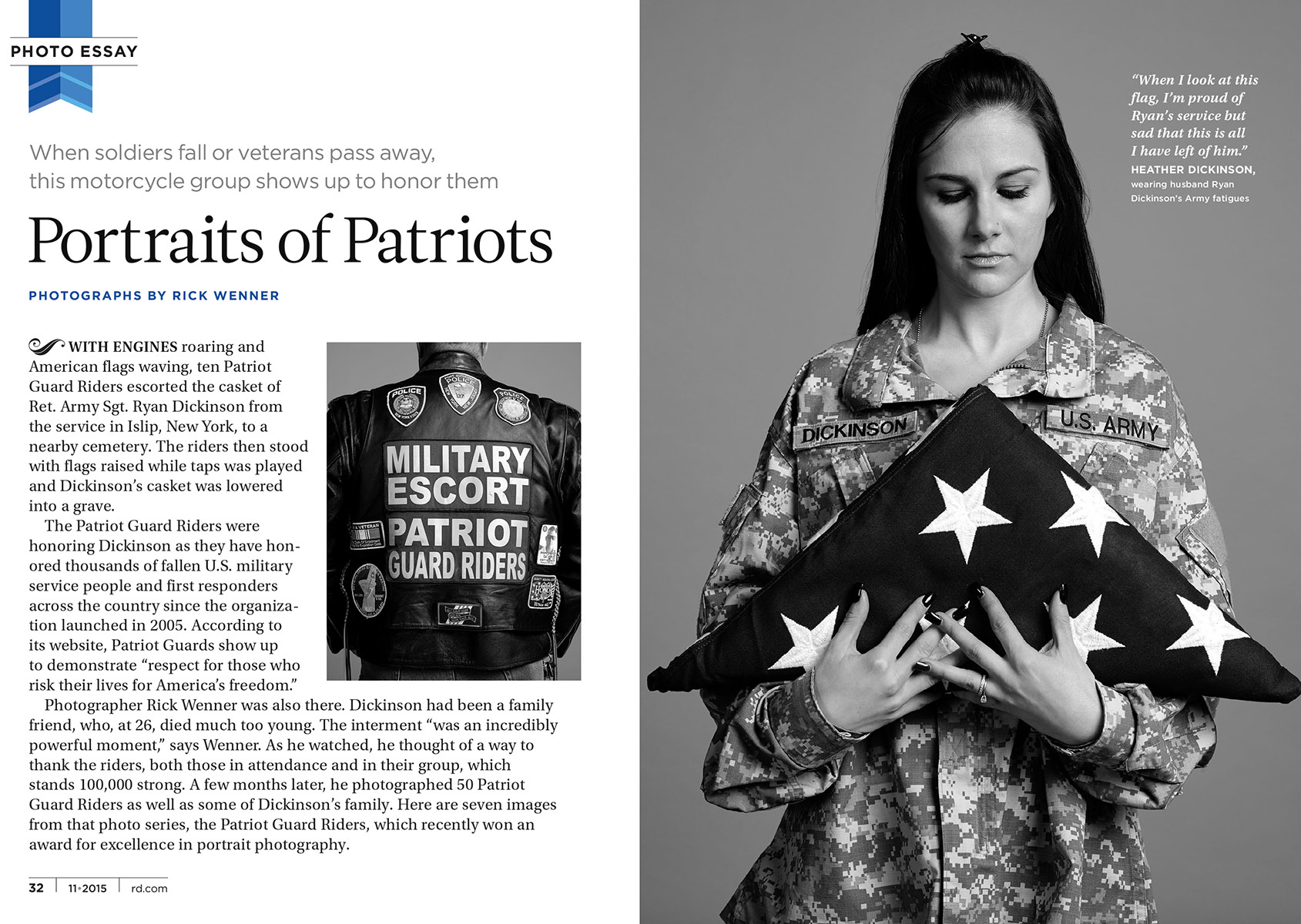 Readers Digest - The Patriot Guard Riders