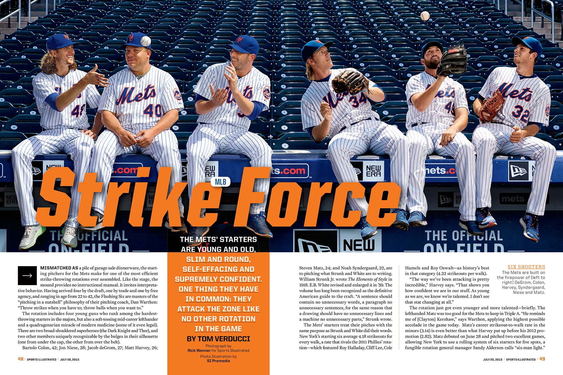 Sports Illustrated - NY Mets